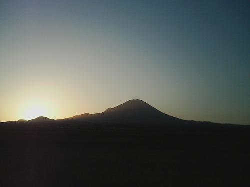 伯耆富士(大山の別名です)