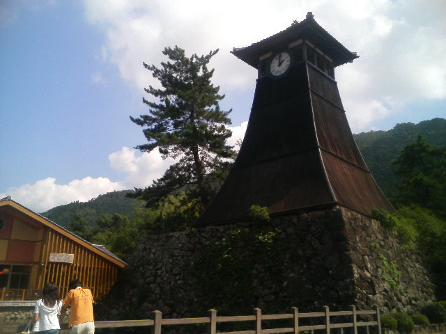 兵庫県出石にきています。