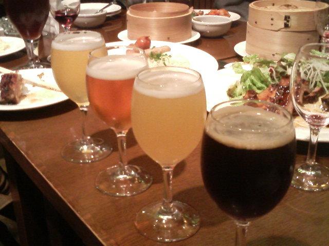 大山Gビール呑み比べ
