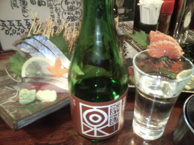 諏訪泉で乾杯〜!