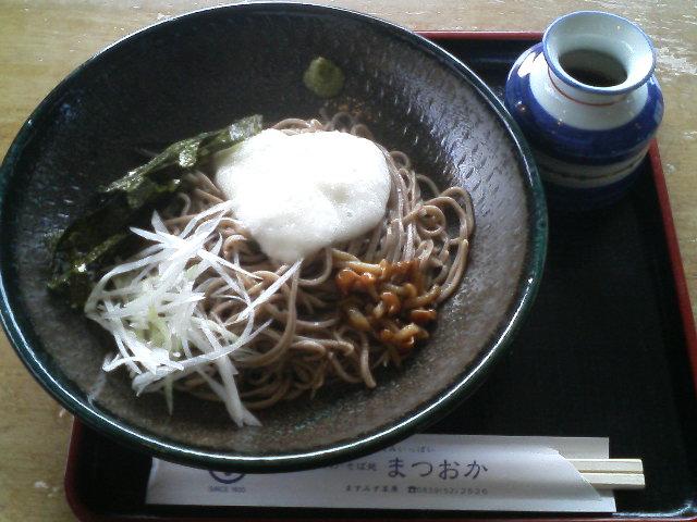 ますみず高原・松岡の大山蕎麦