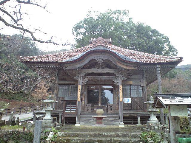峯寺の観音堂