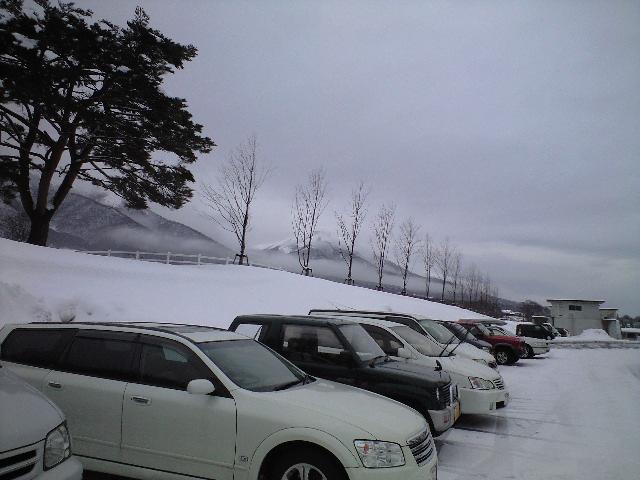 蒜山は積雪中