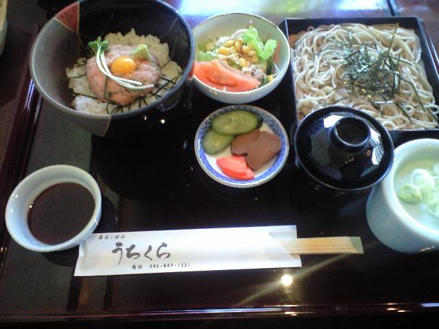 横須賀YRPにある蕎麦と懐石うちくらにて