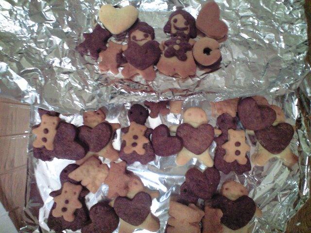 愛娘の手作りクッキー