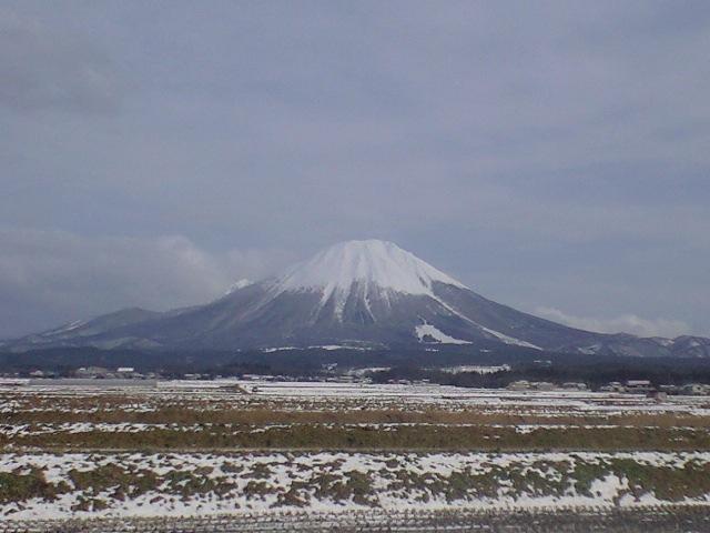 今日も大山が綺麗〜!