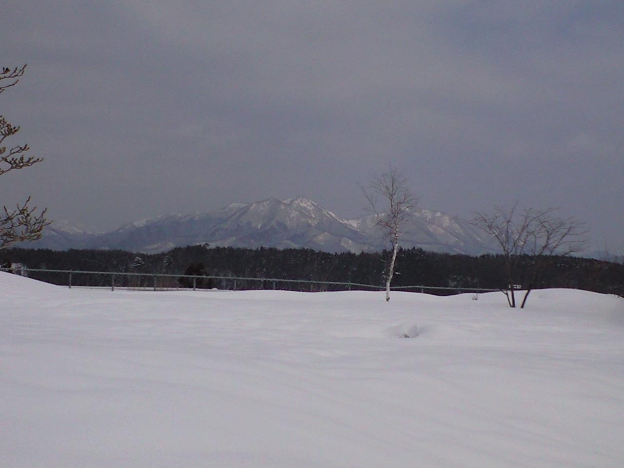 岡山県蒜山にて