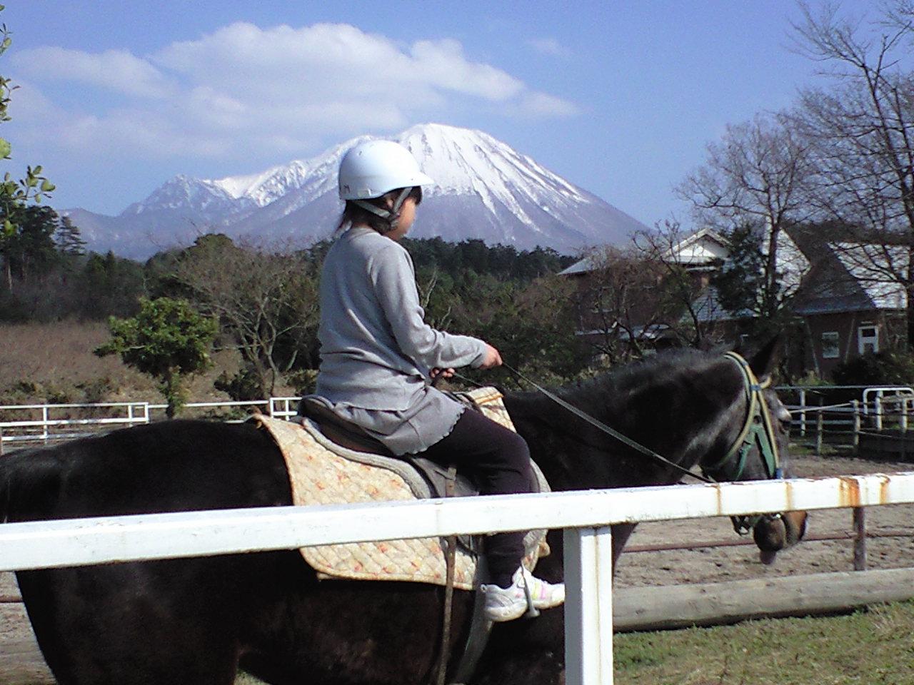 乗馬日和〜!