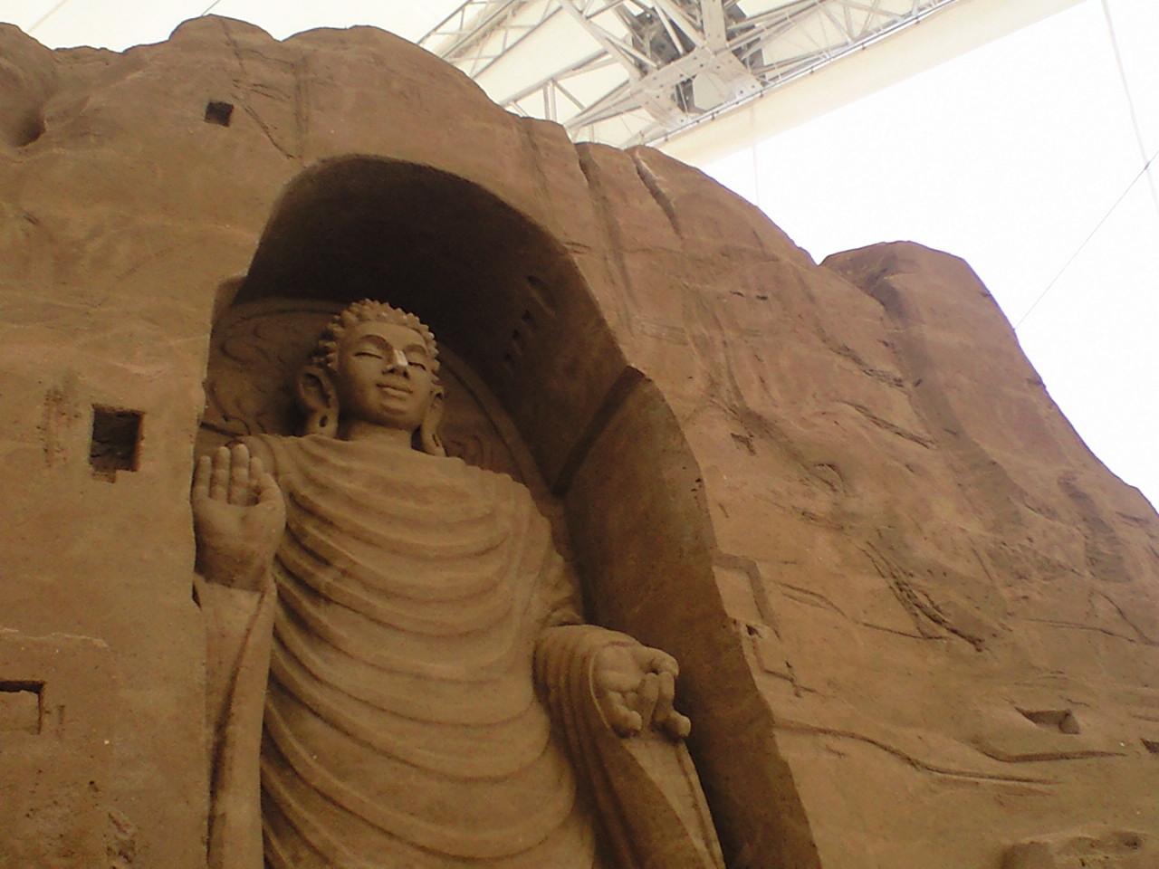 砂の美術館オープン!