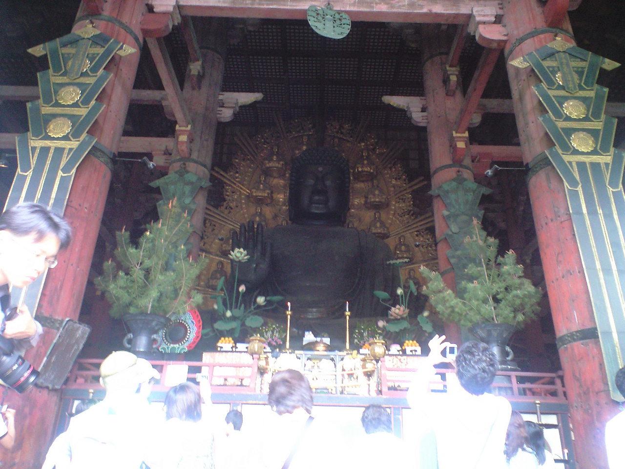 奈良東大寺・大仏様