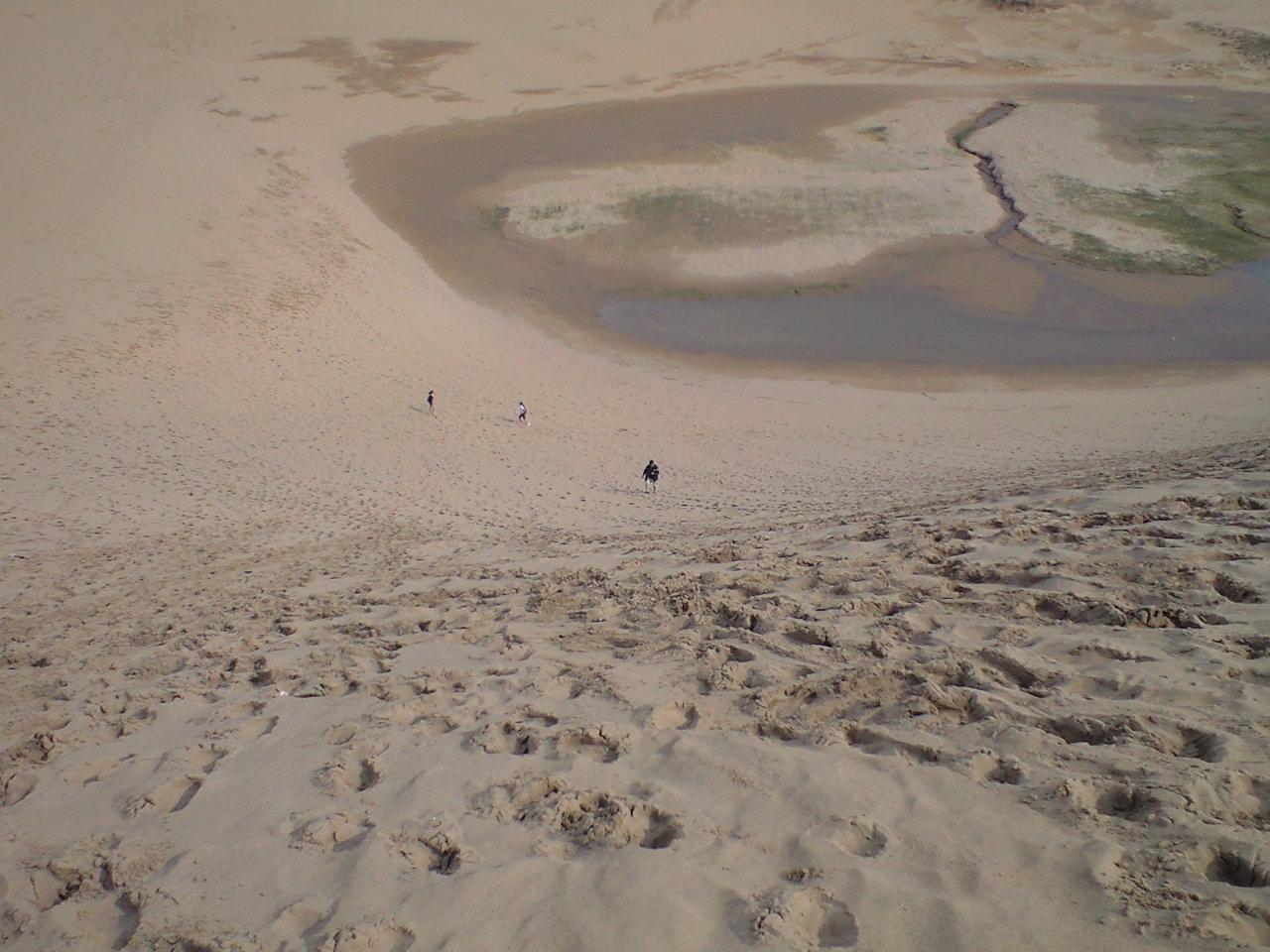 鳥取砂丘から