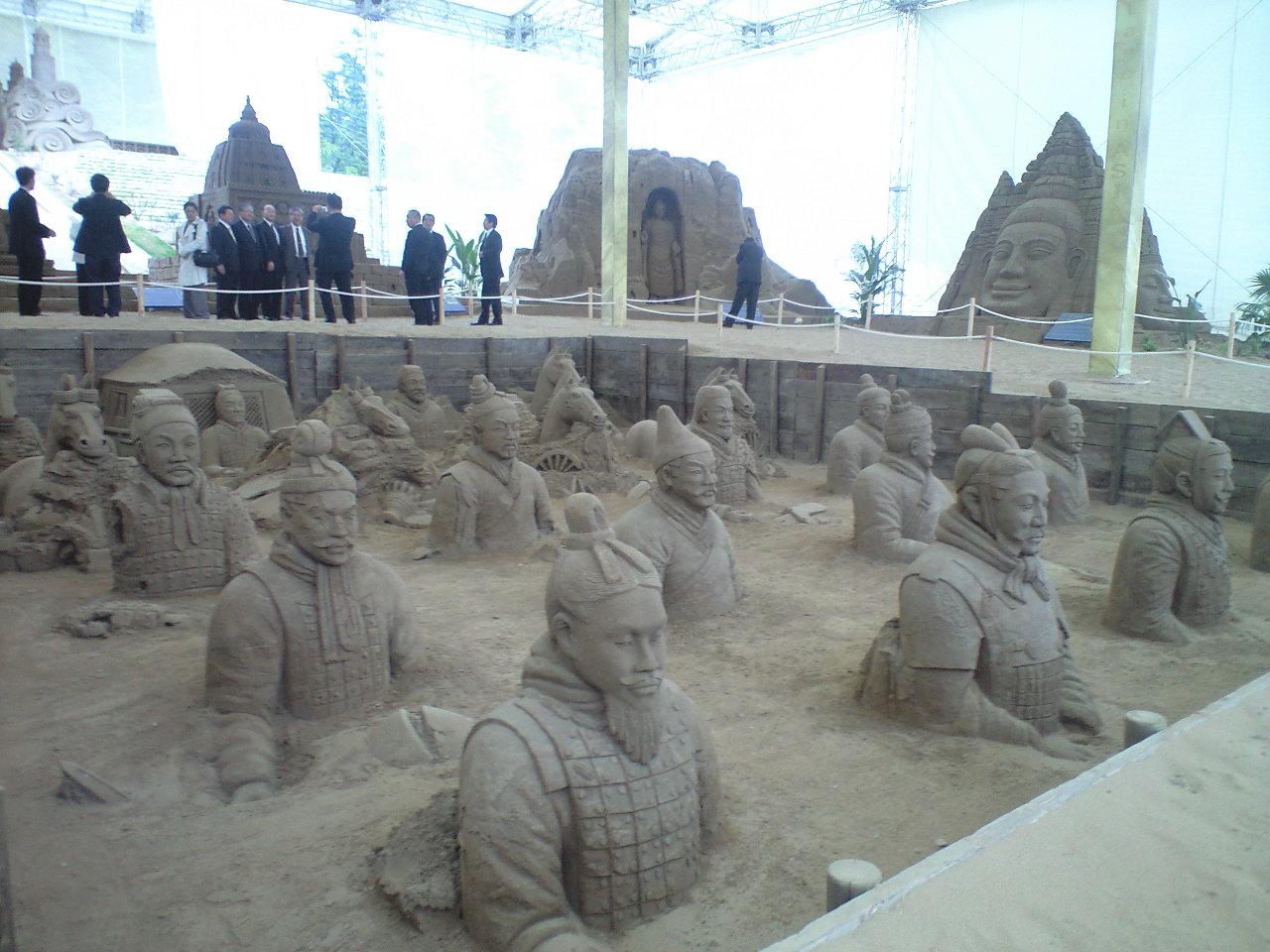 砂の世界遺産たち