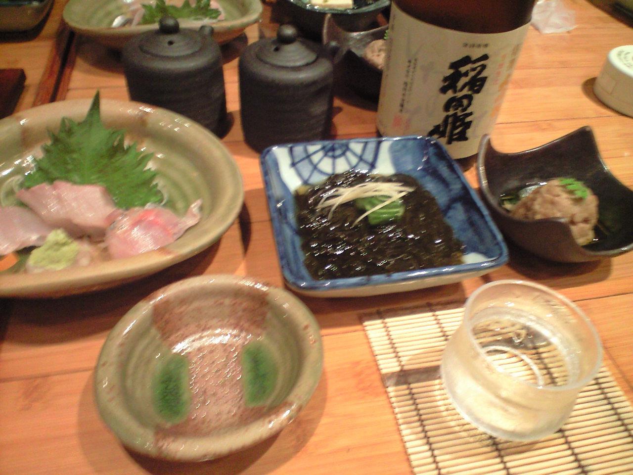 稲田姫で乾杯〜!