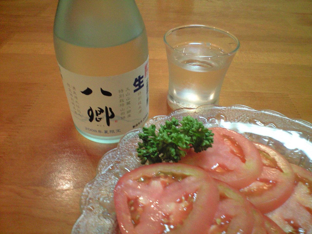 大山の銘酒「八郷」夏の生酒 出ました!