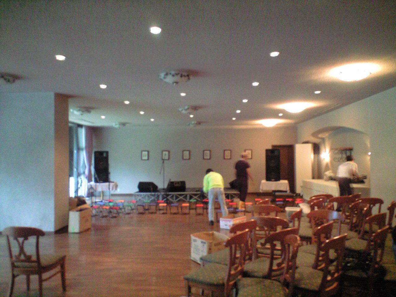 大山王国 夏至祭 室内で開催します。