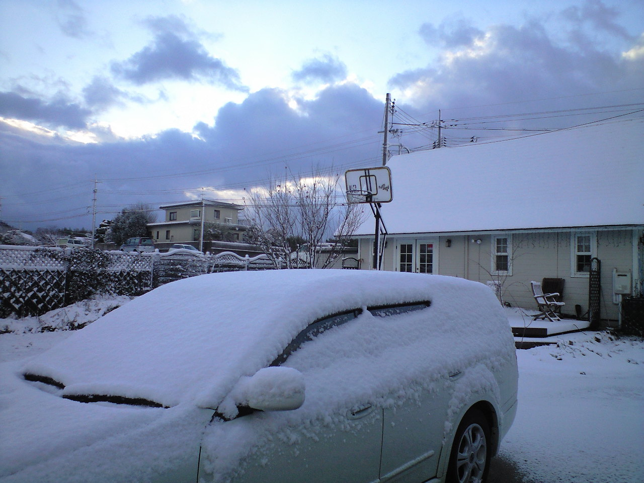 大山、積雪中〜♪