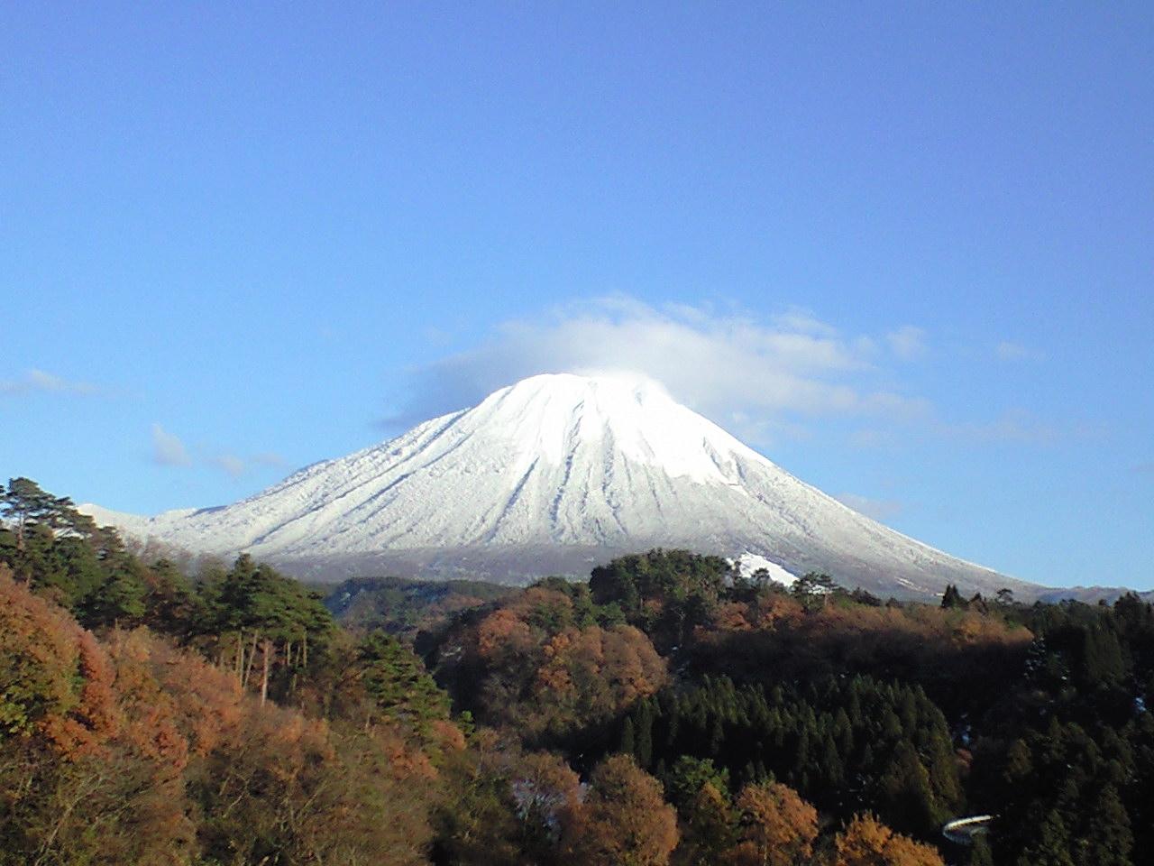また今日の大山も綺麗やなぁ〜♪