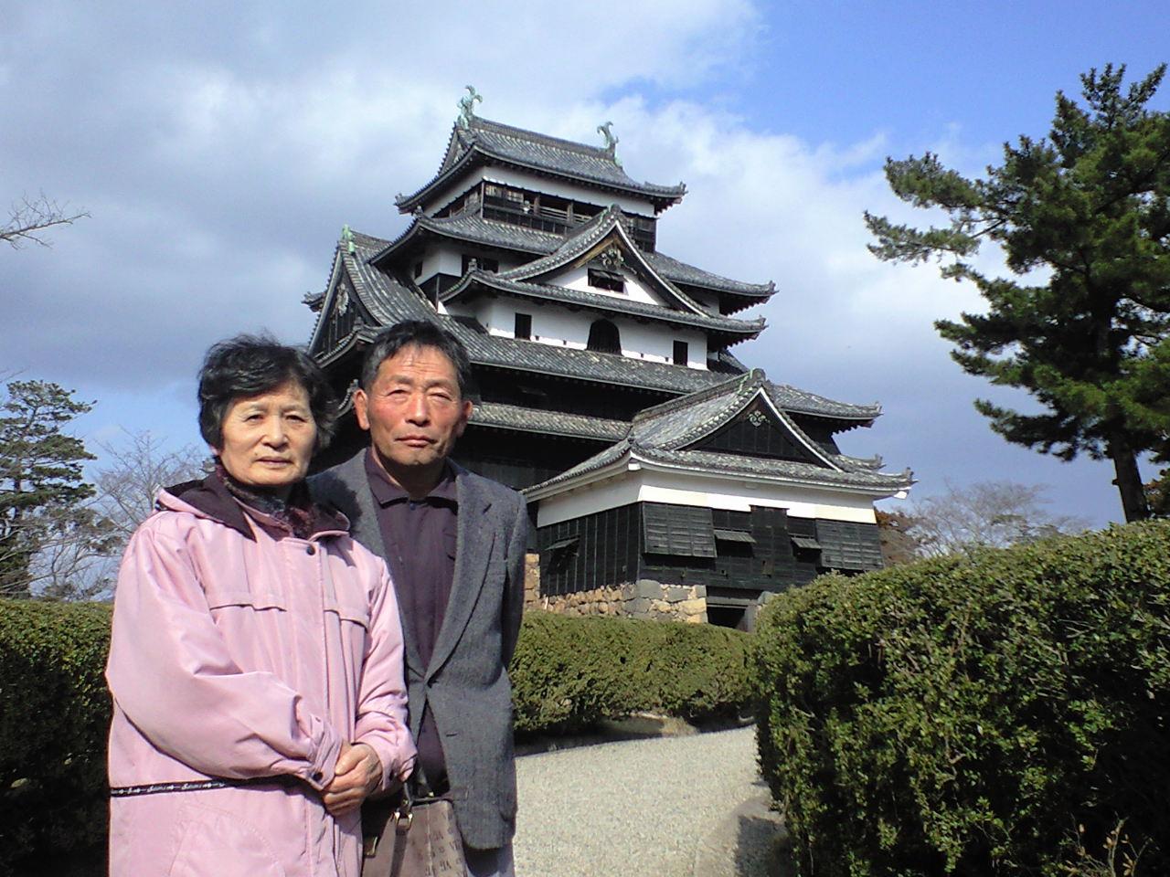 松江城で、だんだん♪