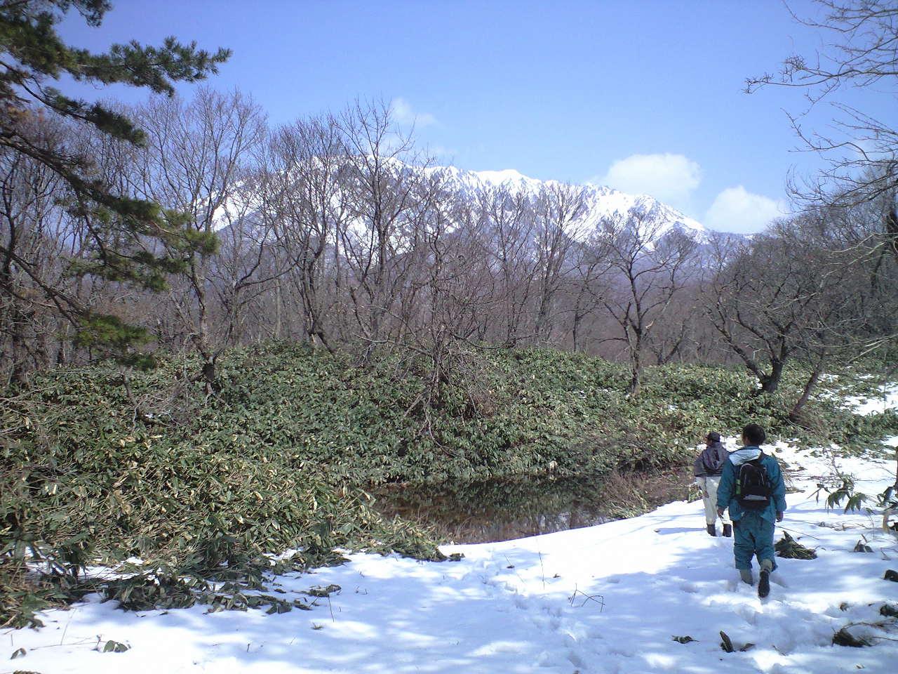 大山・池の平(いけのなる)