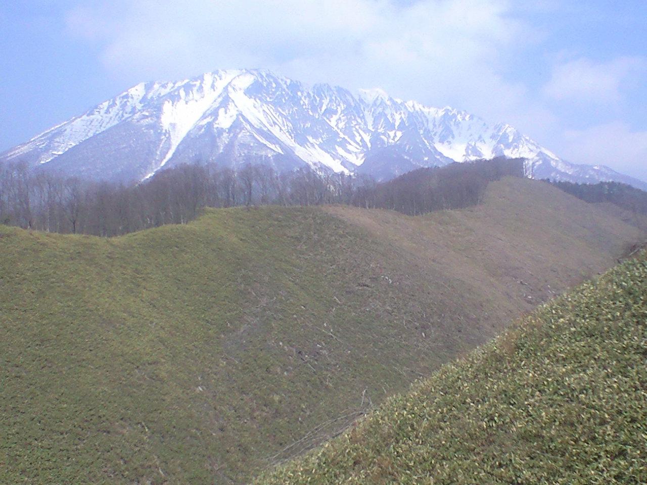 こんな大山、見たこと無いでしょ?