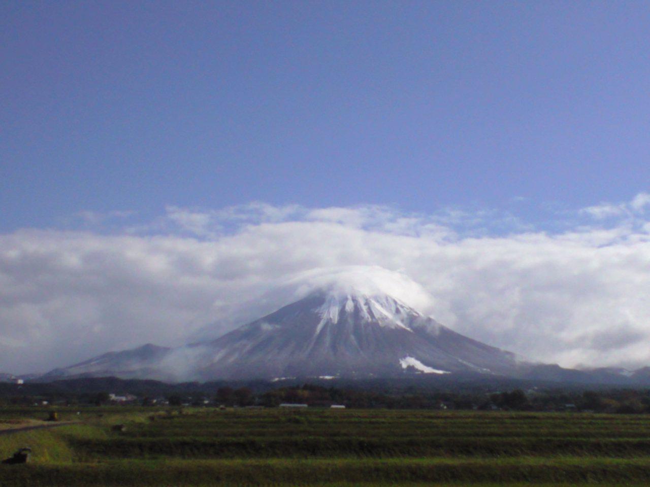 伯耆富士 大山 初冠雪