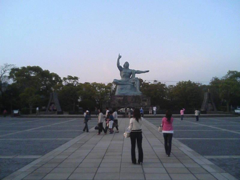 長崎平和公園より