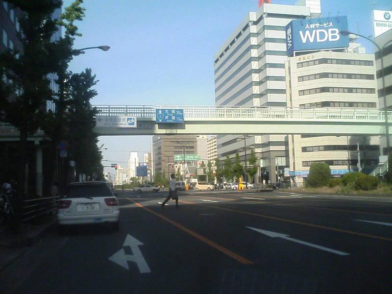 鳥取県を通り過ぎて神戸にいます。