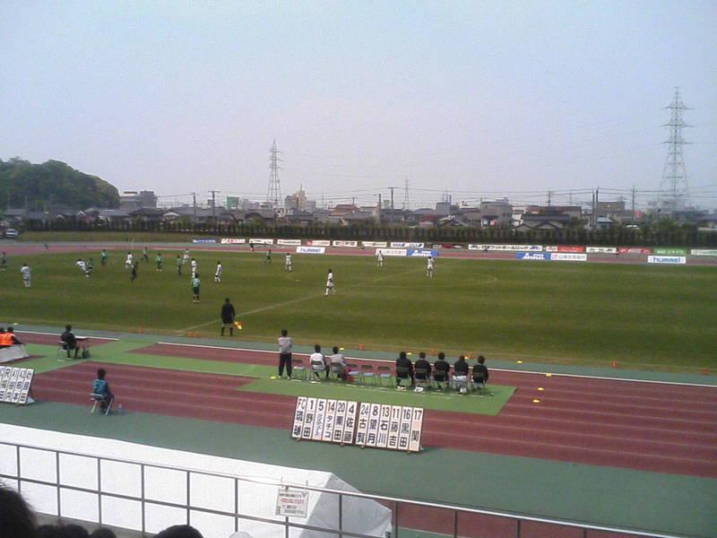 SC鳥取の試合が始まりました!