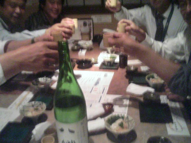 とりあえず日本酒〜!