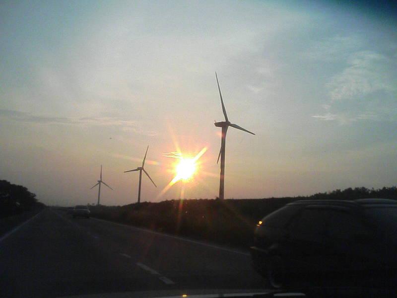 大栄の風力発電