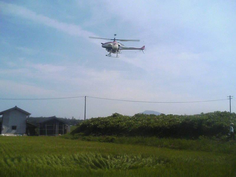 農業用ラジコンヘリコプター