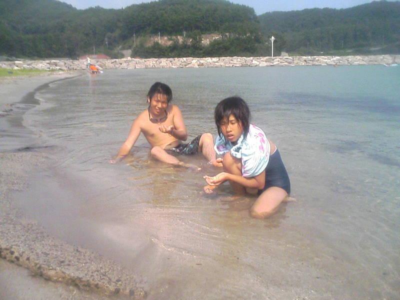 隠岐の海幸の浜海水浴