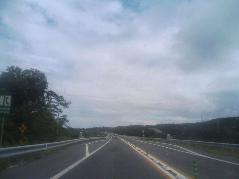 浜田自動車道〜山陰道〜経由で広島から山陰へ。
