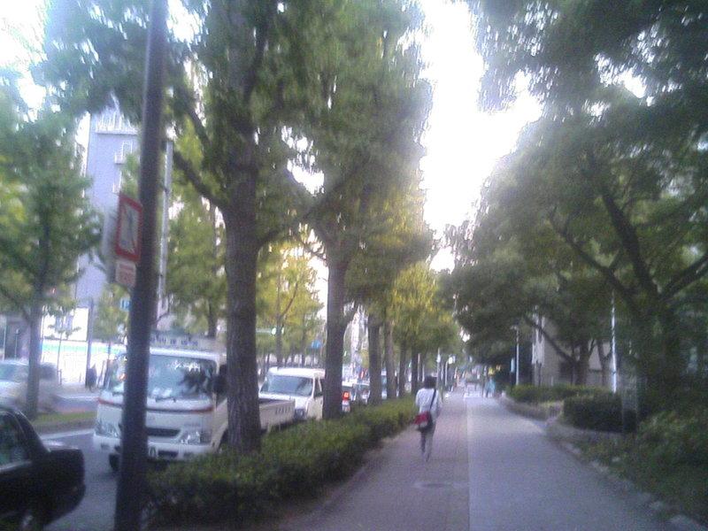 大阪本町あたり