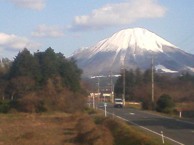 今日も大山、綺麗〜!