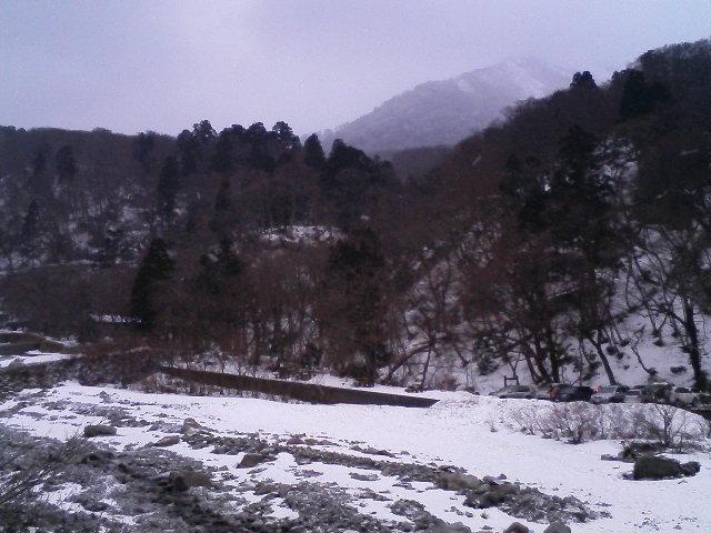 大山寺は、粉ぁー雪ぃ〜