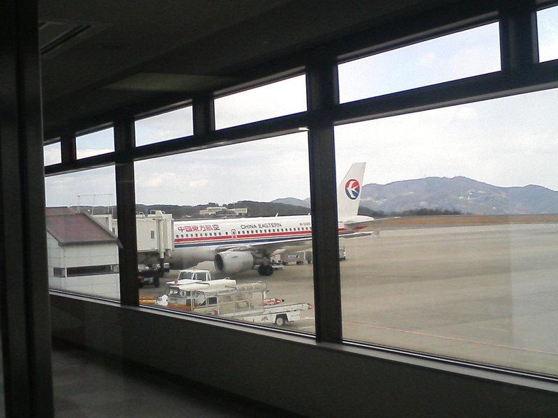 岡山空港〜上海
