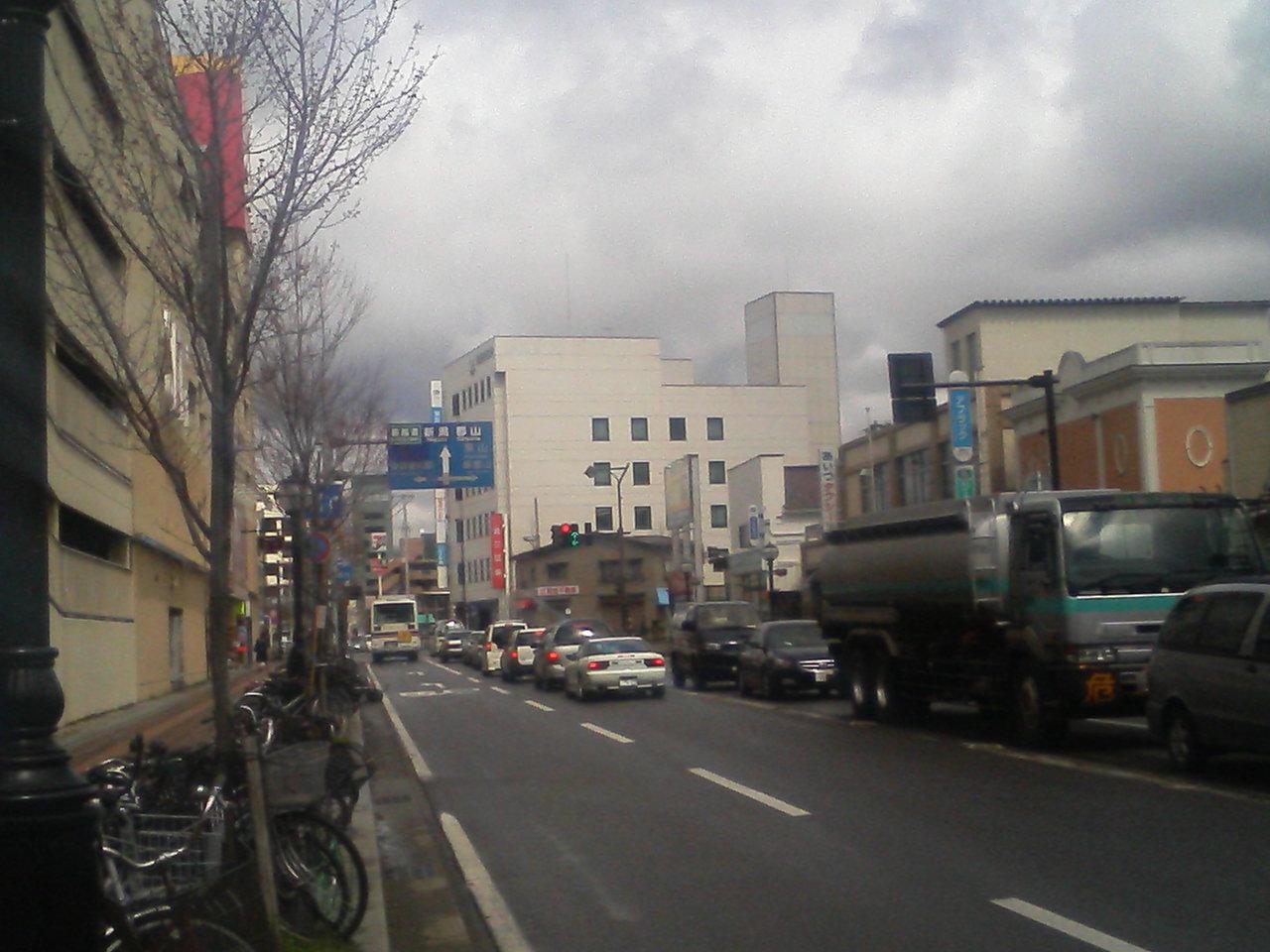 会津若松市に到着