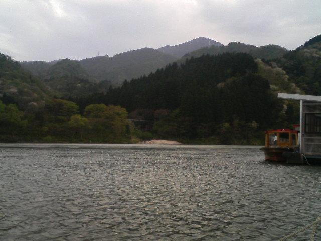 新潟県阿賀野川あたり