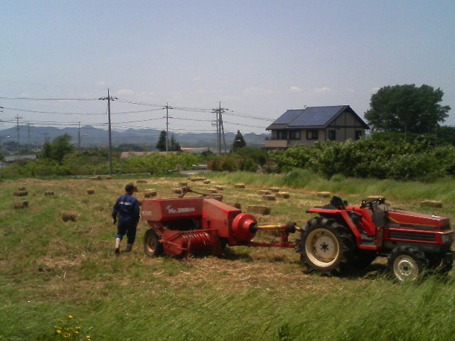 へんてこ農業機械?