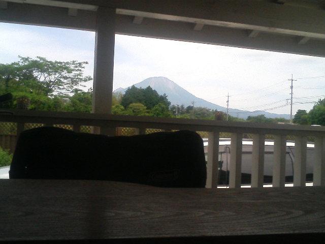 大山がハッキリと。